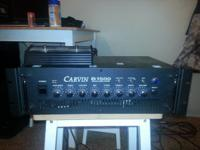 EXTREMELY LOUD AMP!!! CARVIN B1500 Bass Head The B1500