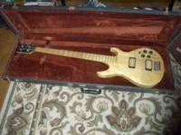 1985 Carvin Bass with original case This bass has two