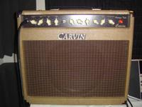 "I have a Carvin 50 watt tube single 12"" speaker combo"
