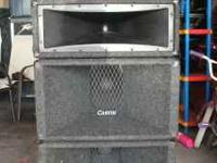 Carvin PA cabinets $400 obo Work great. These are the