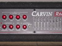 Carvin R600 Bass Amp Head Great Condition Dimensions: