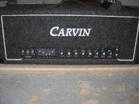 Carvin X-100B Head. Packed w / (4) EL-34 Power Tubes.