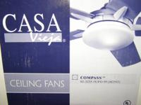 CASA Vieja CEILING Fans. COMPASS model. New. In sealed