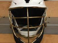 Cascade Lacrosse Helmet Has Del Norte stickers but they