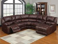 Cascade Reclining Sectional * Wrapped in a luxurious