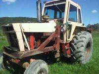 CALL ,, NEEDS WORK,HAS LOADER,GREAT RUBBER,TRANNY HAS