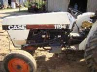 TRACTOR RUN'S GOOD AND INCLUDES NEW FINISH MOWER. CALL