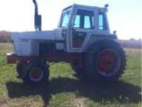 Case 1370,155 hp CAH tractor has 5700 hrs on it looks