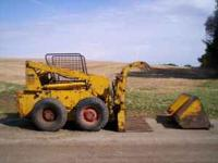 "For sale Case 1537 skid steer with 60"" dirt bucket and"
