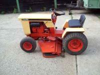 Case 155 Garden Tractor. 10hp Kohler Engine.