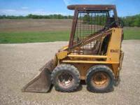 Case 1816c skid loader in good condition with a 20hp