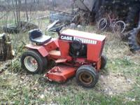 I have a Case 220 tractor for sale. It has been sitting