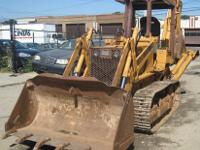 CASE 350B Tractor Loader with Backhoe Attachment - And