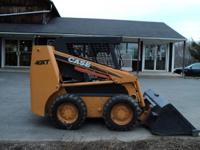 Case 40xt skid steer loader. 56hp Case (Cummins) 4-390