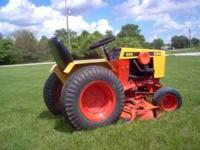 Case 444 Garden tractor with 48 inch deck. New blades,