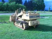 i have a case 450 track loader, good running and