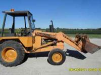 Case 480C Loader tractor (Diesel) only 3,923 hours. 3