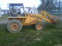 I have a case 480f loader tractor for sale. It has a