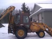 For sale a good working backhoe. I used it for some