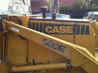 EXCELLENT CONDITION BACKHOE 1986 CASE 580E WITH 5K