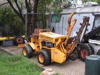1979 Case trencher, runs great, needs digging chain,