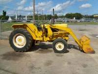 Case/IH 258 Industrial loader tractor.This is the same