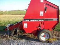 Like new Case IH 8420 Round Baler. Looks and runs