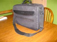 I'm offering a Case Logic laptop case. It has seen