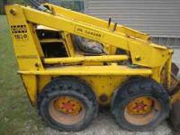 Case 1830 skidloader with a bad engine asking $1750