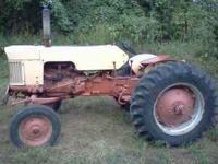 Good tractor! Runs great, has good tread on tires. We