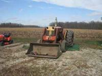 1965-1967 Case 530 draftmatic with loader runs great