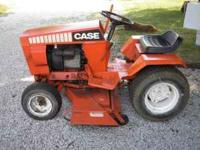 I have a great looking and running Case 220 mower for