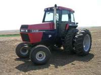 Case IH 2294, runs good, cold ac, new front tires, rear