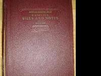 Cases on the Lawof Bills and Notes, American Casebook