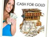 CASH 4 GOLD, COINS & SILVER! TODAY $25.00/GR FOR 14K