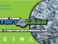 Trade Your DVDs and CDs for Cash$$. TradeYourStuff4Cash