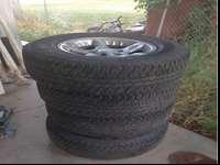 Tires and wheels. Tires size 275/70/r17 two tires are