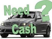 Cash for Cars, Trucks & SUVS always pays you cashWe