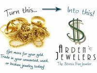 Cash for Gold in Sacramento Arden Jewelry expert pays
