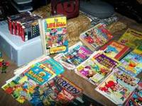 Comic Book Collection from the1970s & 1980s. DC, Marvel