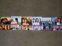 NO EMAILS!!!!!!!!!!!!!! dawsons creek dvds,seasons 1-6