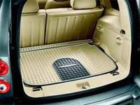 DESCRIPTION: Cargo Area Floor Mat Cashmere w/ HHR Logo