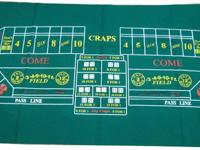 Up for sale are casino game layouts for your next home