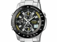 I have a Casio Wave Ceptor Atomic Chronograph watch for
