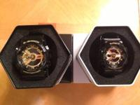 CASIO BABY G SHOCK LOT BA-110-1A BLACK & GOLD