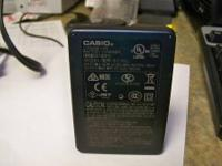 Casio Camera battery charger. Used, fully functional.