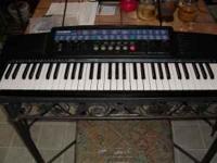 Casio CT-647 Keyboard, 61 full size keys, with Adaptor