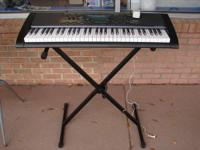 Casio CTK-2000 Keyboard with stand asking for $75.00,