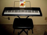 Play a piano piece with ease on a portable and