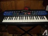 Includes: Keyboard, Owner's Manual, Sheet Music Holder,